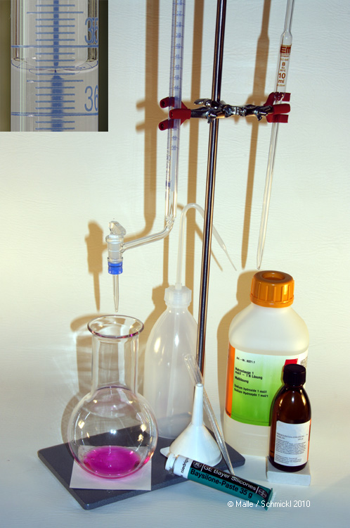 Acetic acid analysis kit